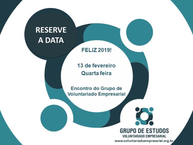 2019 save the date 13 de fevereiro